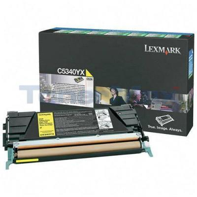 LEXMARK C534 TONER CARTRIDGE YELLOW RP 7K